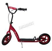 Look what I just bought on eBay: FoxHunter Kids BMX Stunt Scooter Push Kick Adult Slider Striker Drifter Red New