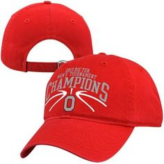 Top of the World Ohio State Buckeyes 2013 NCAA Big Ten Men's Basketball Tournament Champions Adjustable Hat – Scarlet