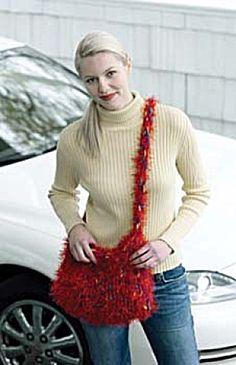 Free Knit & Crochet Pattern 30311 Bag in a Jiffy : Lion Brand Yarn Company