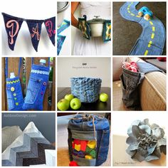 If you're like me, you have a huge (and growing) pile of denim trousers. Today Sara @ MadeBySara is sharing 40+ repurposing old jeans ideas and tutorials. great roundup and no more old jeans sitting in the to-be-refashioned pile! only on SergerPepper.com