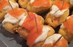 Minis muffins ou minis cakes au saumon fumé