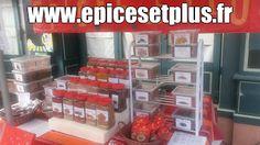 épices sur les marchés