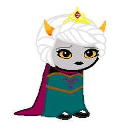 Homestuck/Frozen crossover. Your name is ELSALA ARENDE - though you prefer to go by ELSA - and you have a DANGEROUS SECRET. (click through)