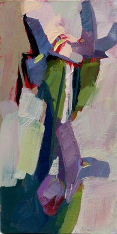 1171 Iris, painting by artist Lisa Daria Kennedy