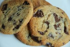 BEST Low Carb Chocolate Chip Cookie!  Delicious!  My family prefers cookies that aren't as sweet so I take about a couple Tablespoons off the sugars and less than half of the stevia.