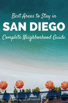 Where to stay in San Diego, a guide to the best neighborhoods. Travel to San Diego, California, a beach town with tons of things to do. Spend your vacation in Old Town, an area known for its Mexican food. North Park features a variety of restaurants and the San Diego Zoo — the perfect activity to do with kids. La Jolla is home to the classic California beach experience and is any photography lover's dream. Hotels to stay at in San Diego. | Blog by the Planet D #SanDiego #California #Travel
