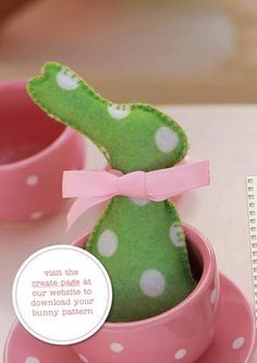 easter is only 10 days away! better hop to it! Here are three sweet projects from past issues of tickle to get you in the easter spiri. Bunny Crafts, Felt Crafts, Easter Crafts, Felt Diy, Felt Bunny, Easter Bunny, Easter Egg Designs, Easter Projects, Felt Decorations