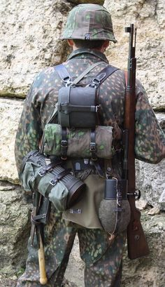 Camouflage Uniforms of the WaffenSS A Photographic