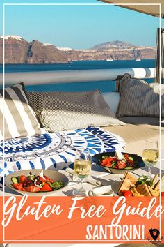 Gluten Free Guide to Santorini, Greece, including Greek food recommendations and restaurant list! | Gluten Free Travel | Celiac Travel |