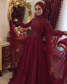 ✔ Dress Outfits Party Hijab ✔ Dress Outfits Party H… – Hijab Fashion 2020 Modest Fashion, Hijab Fashion, Dress Fashion, Muslim Fashion, Hijab Dress Party, Hijab Gown, Turkish Wedding, Simple Hijab, Most Beautiful Dresses