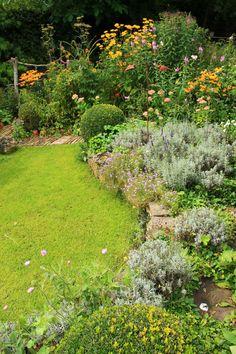 Cottage garden, September