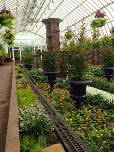 Sunken Garden, Phipps Conservatory