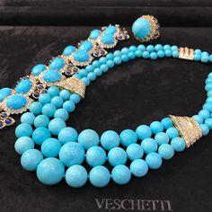 "@veschettijewelsitalia ""Visit us on the last day of Doha Jewellery & Watcg Exhibition to be mesmerised with…"""