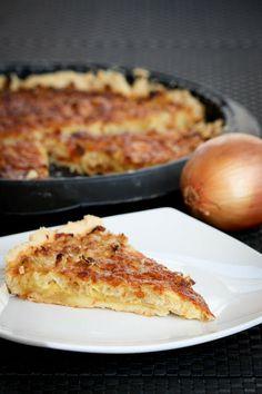 Onion Mustard Tart
