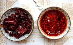 #Doubanjiang--Chili bean paste  A comparison between Pi Xian Doubanjiang and Red oil Doubanjiang