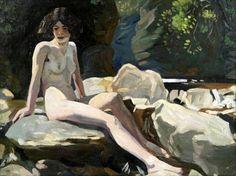 Eric Harald Macbeth Robertson (1887 – 1941, Scottish): Study Of Anne Finlay Seated