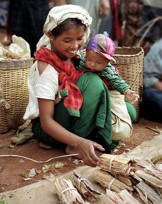 Simple life in Myanmar..
