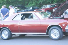 66 chevelle my first car