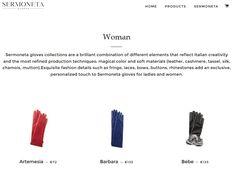 Il nostro sito e-commerce per Sermoneta Gloves