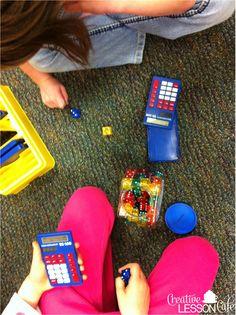 Roll and add calculator practice