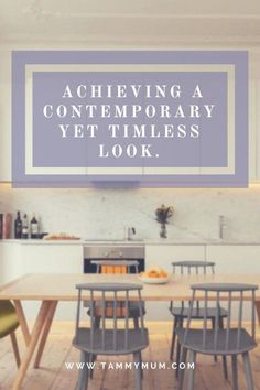 How to achieve a contemporary modern look in your home. Comptemoporary decor all the while keeping that timeless interior design that won't go out fashion. Affordable interior design yet fashionable interior design that won't age. Small House Decorating, Interior Decorating, Decorating Tips, Contemporary Interior Design, Home Decor Styles, Kitchen Design, Modern Interiors, Age, Clean Living