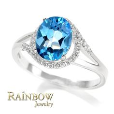 Promotion 60% off 925 Solid Silver Ring for Women Wedding Gifts Fashion Beautiful Rings With Blue Topaz Ladies Jewelry Sale