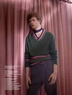 L'Officiel Hommes Italia F/W 15.16 ph Mel Bles