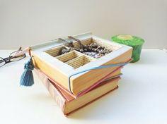 Aus dem alten Buch einen Schmuckkasten basteln