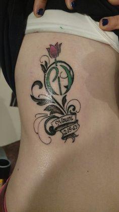 Parkinson's tribute tattoo.