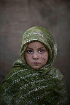 Crianças refugiadas do Afeganistão