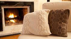 Gomitoli's - Kit cuscino realizzato in Big Cashmere filato grosso