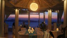 Pantheon Villas Santorini - The Restaurant ... totally unique 360 view