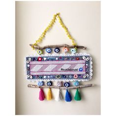 Elsa, Tassels, Crafts, Accessories, Art, Feltro, Ideas, Weird Things, Manualidades