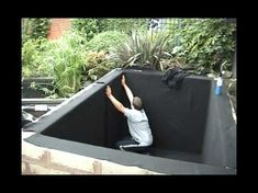 How To Build Your Own Garden Fish Pond & Waterfall 2012. - YouTube