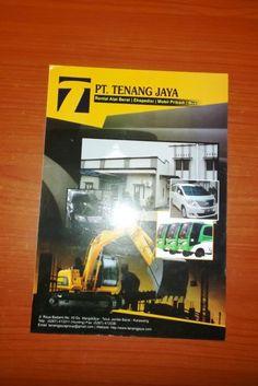 Company Profile Perusahaan Rental Alat Berat Tenang Jaya Karawang