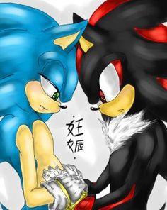 Sonadow - New Life by BlueNeedle-Inu Sonic And Shadow, Rainbow Dash, Inu, Sonic The Hedgehog, Deviantart, Comics, Artist, Fictional Characters, Fangirl