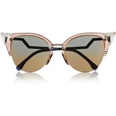 Fendi Crystal-embellished cat eye Optyl™ sunglasses Lunette De Vue Femme,  Maroquinerie, 561454aa3493