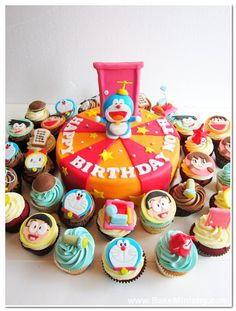 Doraemon and freinds's World! By Bake Ministry.