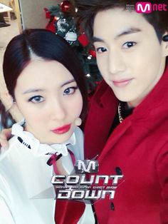 Mark and Sunmi- MCountdown Christmas Special