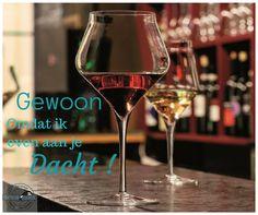 Perfecte combi... een mooie wijn in een fantastisch glas