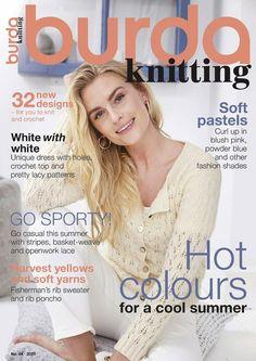 Knitting Books, Free Knitting, Knitting Projects, Knitting Patterns, Sweater Patterns, Unique Crochet, Knit Crochet, Knitting Magazine, Book And Magazine