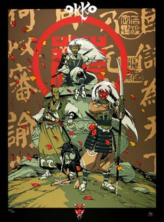 Superb silkscreen printing, strictly new, size 60 x 80 cm. It comes from a limited print run of 150 copies signed by the author. Geisha, Character Illustration, Illustration Art, Illustrations, Ninja Assassin, Art Ninja, The Last Samurai, Samurai Art, Fantasy Setting