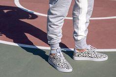 clae newman white leopard