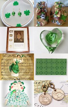 When Irish Eyes Are Smiling by Jeanne on Etsy--Pinned with TreasuryPin.com