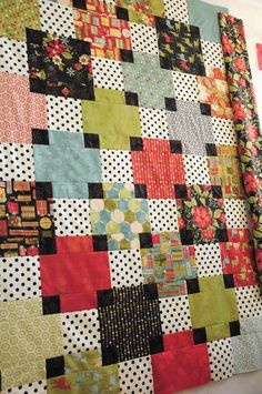 That's how you use black in a quilt!