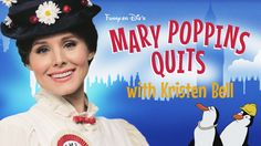 Mary Poppins (Kristen Bell) is practically perfect in every way, except grossly underpaid. And she wants to ‪#‎RaiseTheWage‬.