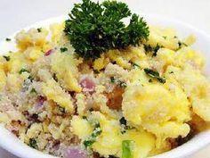 Receita de Farofa de presunto e ovos. Saiba os ingredientes e o passo a passo para fazer Farofa de presunto e ovos