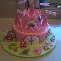 Siennas 3rd Birthday Cake =)