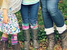 How To Make Boot Socks From Old T-Shirts:  From DIYNetwork.com from DIYnetwork.com