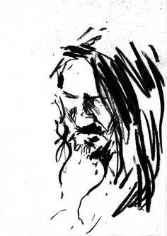 John Frusciante by Kamil Pieczykolan